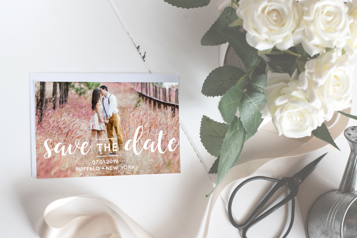 Buffalo Press Inc, postcard printing, save the dates, save the dates printing, Buffalo printers