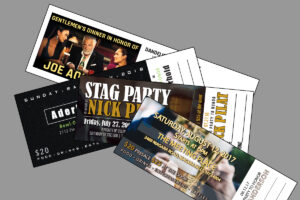 Buffalo Press Inc, event tickets, event ticket printing, numbered tickets, printer near me